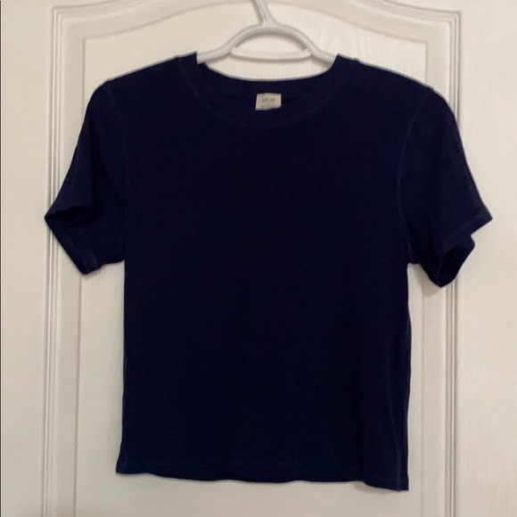Navy Blue Wilfred Short Top